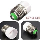 Generic E27 To E14 Base Screw LED Lamp Bulb Holder Adapter Socket Converter