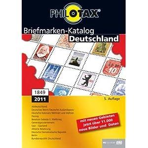 Briefmarken-Katalog Deutschland  1849-2011 auf CD-ROM