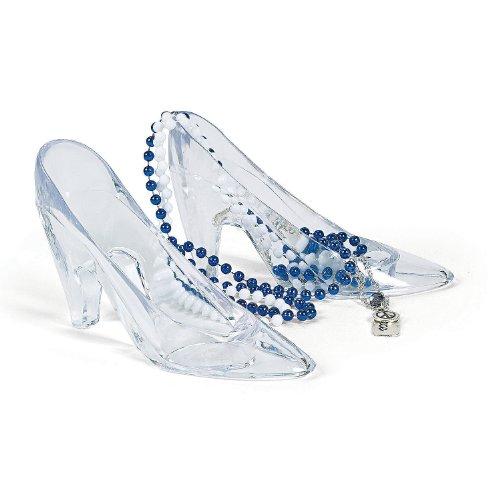 Fun Express Plastic Princess Shoes (6 Piece)