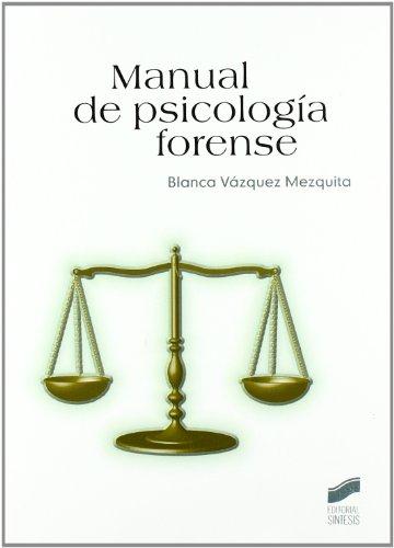 Manual de Psicología forense