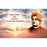 Poster Swami Vivekananda Life Quote ON FINE ART PAPER HD QUALITY WALLPAPER POSTER