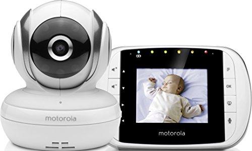 Motorola MBP33S - Vigilabebés vídeo con pantalla a color de...
