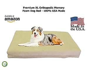 Amazon.com : Extra Large Dog Beds - XL Orthopedic Memory