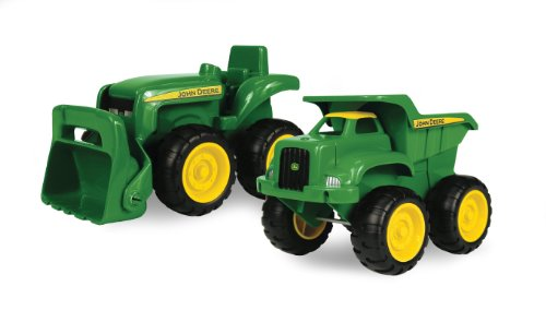 Juan Deere sandbox Vehicle 2pk, Trak ug Tractor
