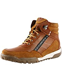 BACCA BUCCI MEN TAN SYNTHETIC BOOTS - B01DM6OIS8