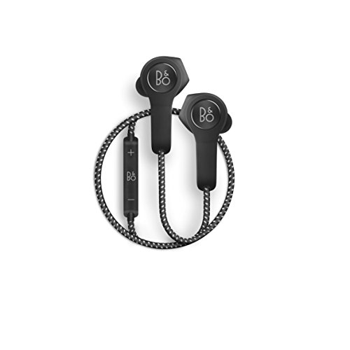 B&O PLAY by Bang & Olufsen Beoplay H5 Wireless Bluetooth Earbuds, Black