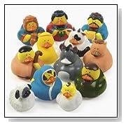 Christmas Nativity Scene Rubber Duckie Ducky Duck