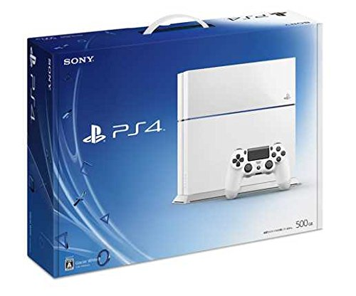 PlayStation4 Glacier White 500GB (CUH1100AB02)(Japan Import)