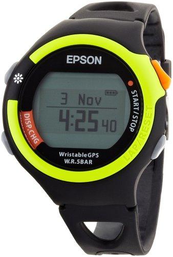 [エプソン リスタブルジーピーエス]EPSON Wristable GPS GPS機能付きランニング機器 FUNランナーモデル ライムグリーン SS-300G