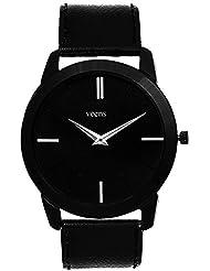 Veens Black Dial Mens Wrist Watch DW11610