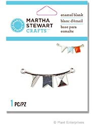 Martha Stewart Crafts Enamel Blank-Flags