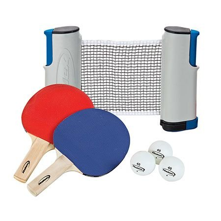 New And Table Tennis Ping Pong Retractable Net Racket Paddle Bat Two Sides Set Game Toy