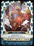 Sorcerers Mask of the Magic Kingdom Game, Walt Disney World - Card #10 - Maurice's Wood Chopper
