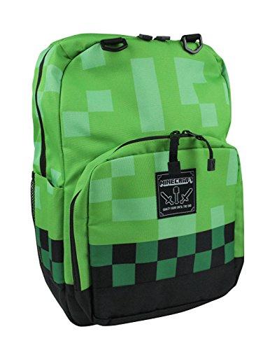 Minecraft - Mochila Verde verde talla única