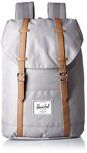 Herschel Classics | Backpacks Sac à Dos Loisir, 46 cm, Gris/Tan PU 828432018741