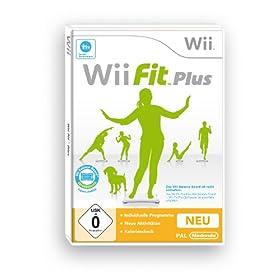 Bei amazon: Wii Fit Plus für 15,40 €