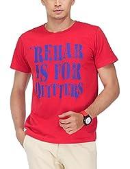 Yepme Men's Graphic Cotton T-shirt - B00O33A2I0