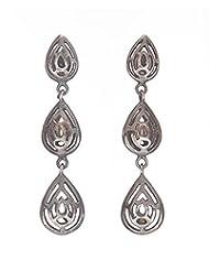 Amethyst By Rahul Popli Silver Silver Stud Earrings