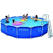Intex Metal Frame Pool Set, Multi Color (15 Feet X 36 Inch)