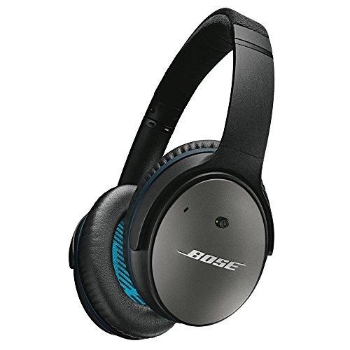 Bose QuietComfort 25 Acoustic Noise Cancelling headphones - Apple devices ノイズキャンセリングヘッドホン 密閉型/オーバーイヤー/Apple製品対応リモコン・マイク付き ブラック QuietComfort25 BK【国内正規品】