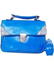 Feliza Womens Cobalt Blue Crossbody Sling Bag (CB001)