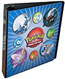 Pokemon Diamond & Pearl (3 Ring - D-Ring Binder) for 9 Pocket Pages - Trading Card Alb...