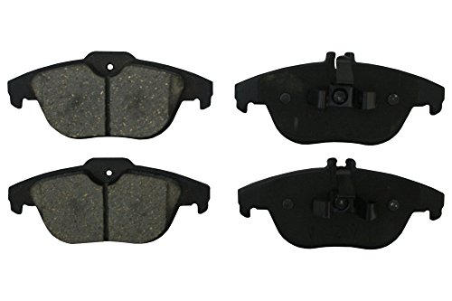 Prime Choice Auto Parts PCD1341 Set Of Performance Rear Ceramic Disc Brake Pads With Rubberized Shims