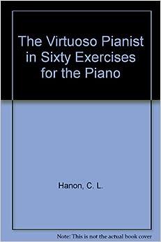 Piano technique exercise N°1 in C