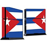 Mightyskins Protective Vinyl Skin Decal Cover For Sony Play Station 4 Ps4 Console Wrap Sticker Skins Cuban Flag