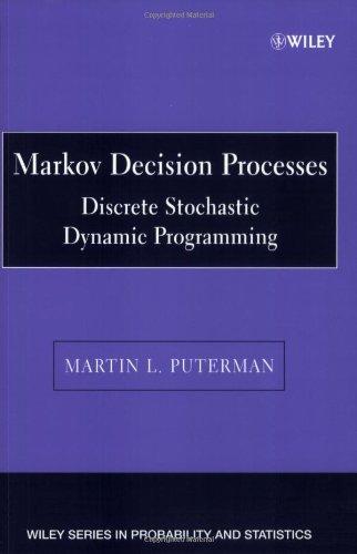 Descargar gratis j2ee ebook Markov decision processes: discrete stochastic dynamic programming de Martin L. Puterman PDB (Spanish Edition) 9780471619772