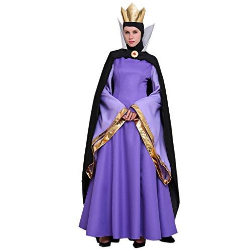 Halloween 2017 Disney Costumes Plus Size & Standard Women's Costume Characters - Women's Costume CharactersCosplayDiy Women's Costume Dress for Snow White Evil Queen (Sizes S-4X)