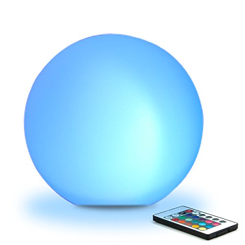 Glow Ball Light (8 in, rechargeable battery)