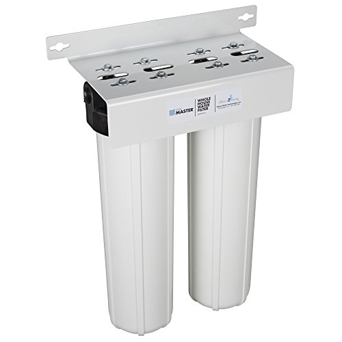 Home Master HMF2SDGC Whole House 2-Stage Water Filter with Fine Sediment and Carbon
