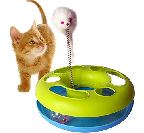 GPET Catch the Mouse Motion Cat Toy