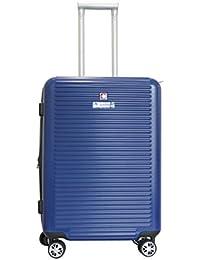 Swiss Military Unisex Blue Hard Top Luggage (HTL9)