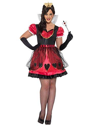 Halloween 2017 Disney Costumes Plus Size & Standard Women's Costume Characters - Women's Costume CharactersPlus Size Queen of Wonderland Costume