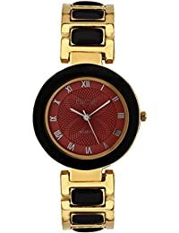 """DICE """"Venus-7307"""" Fashionable, Elegant, Contemporary, Tasteful And Attractive Watch For Women. Fitted With Multi Dial, Gold-Plated Stainless Steel Body"""