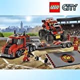 LEGO 60027 LEGO Monster Truck Transporters / Lego City / Second Half Of 2013 New Products / Genuine Lego Korea...
