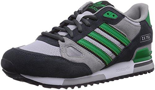 Adidas Zx 750 - Zapatillas de deporte para hombre, color dgh solid grey/green/mgh solid grey, talla 42