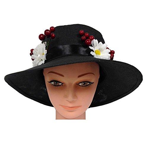 Halloween 2017 Disney Costumes Plus Size & Standard Women's Costume Characters - Women's Costume CharactersDeluxe English Nanny Mary Poppins Daisy & Cherry Hat