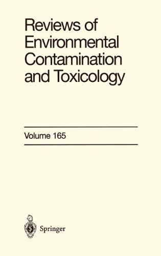 Reviews of Environmental Contamination and Toxicology: Continuation of Residue Reviews: 165