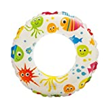 Intex Recreation Lively Print Swim Ring - Color May Vary- 2 Pack Summer Fun