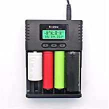 Alcoa Prime Quality LCD Battery Charger For Soshine H4 14500 18350 18650 26650 AA AAA C High Quality