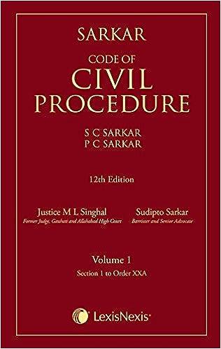 Sarkar Code of Civil Procedure