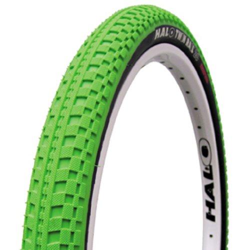 Halo Twin Rail W Tire 26 X 2.2″ Highlighter Green