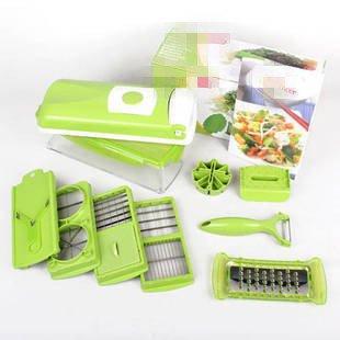 Genius Nicer Dicer Plus Multi Chopper Vegetable Cutter Fruit Slicer