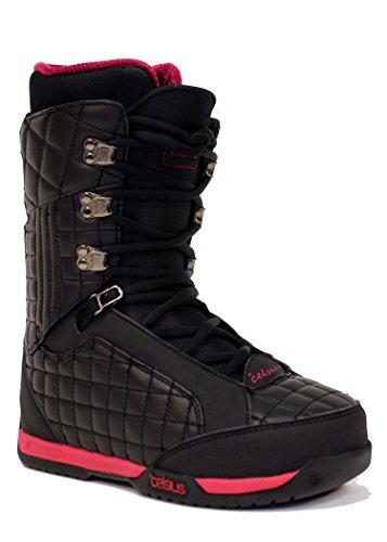 Celsius Belmont Women's Snowboard Boots , Black/Pink, 10