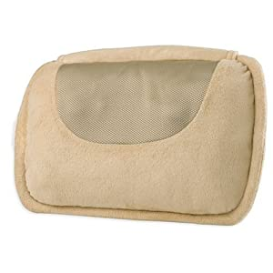 Homedics Therapist Select SP-10HD Shiatsu Pillow, Beige