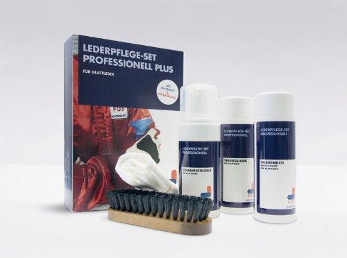 POS Lederpflege-Set Professionell Plus - Das Rundum-Sorglos-Paket