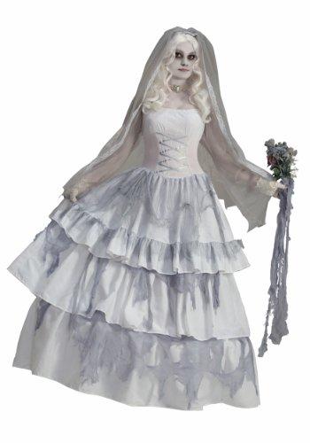 Deluxe Victorian Ghost Bride Costume
